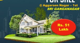 Elegant Kothi For Sale in Aggarsen Nagar – 1st