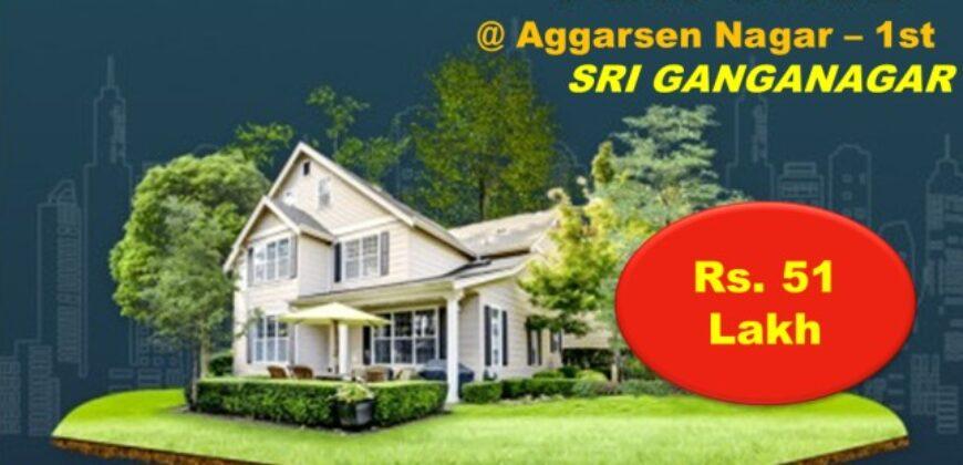 Elegant Kothi For Sale in Aggarsen Nagar – 1st