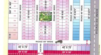 Plot 40×70 For Sale in Ambica Enclave