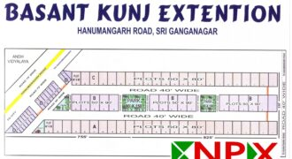 Plot 50×80 For Sale in Basant Kunj Extention