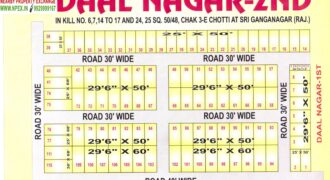 Residential Plot in Daal Nagar – 2nd