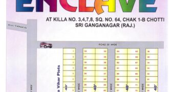 Residential Plot in Durga Enclave