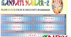 Plot 25×45 For Sale in Ganpati Nagar – 2