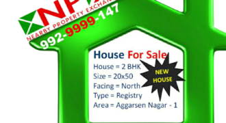 2 BHK House with Modular Kitchen For Sale in Aggarsen Nagar – 1