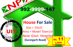 Shop For Sale in Model Town – 1st