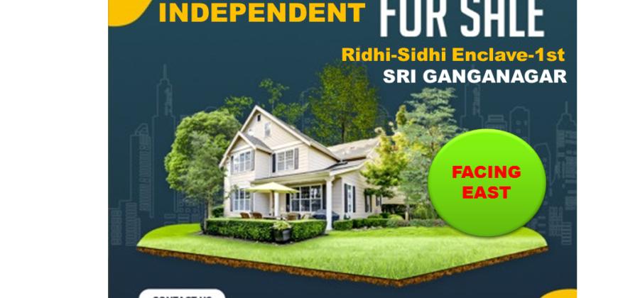Elegant Kothi For Sale in Ridhi – Sidhi Enclave – 1st