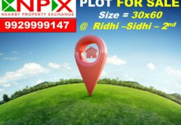 Plot For Sale in Ridhi Sidhi – 2nd